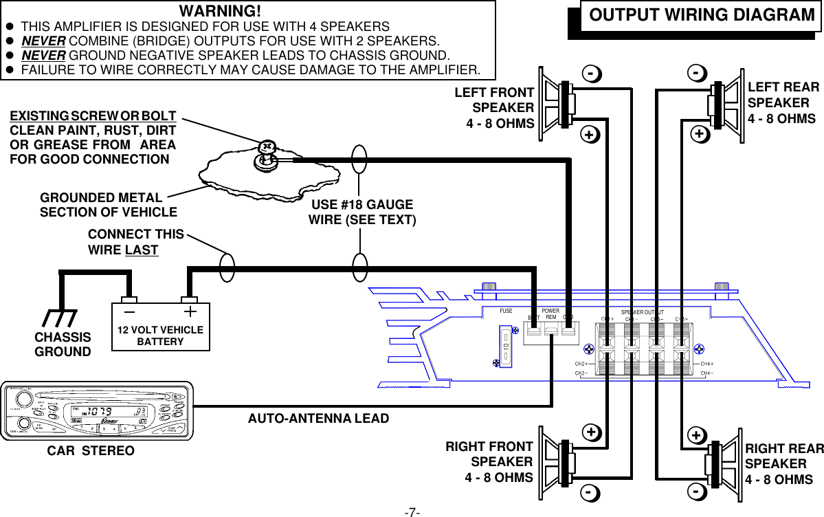 Audiovox Wiring Diagram Collection