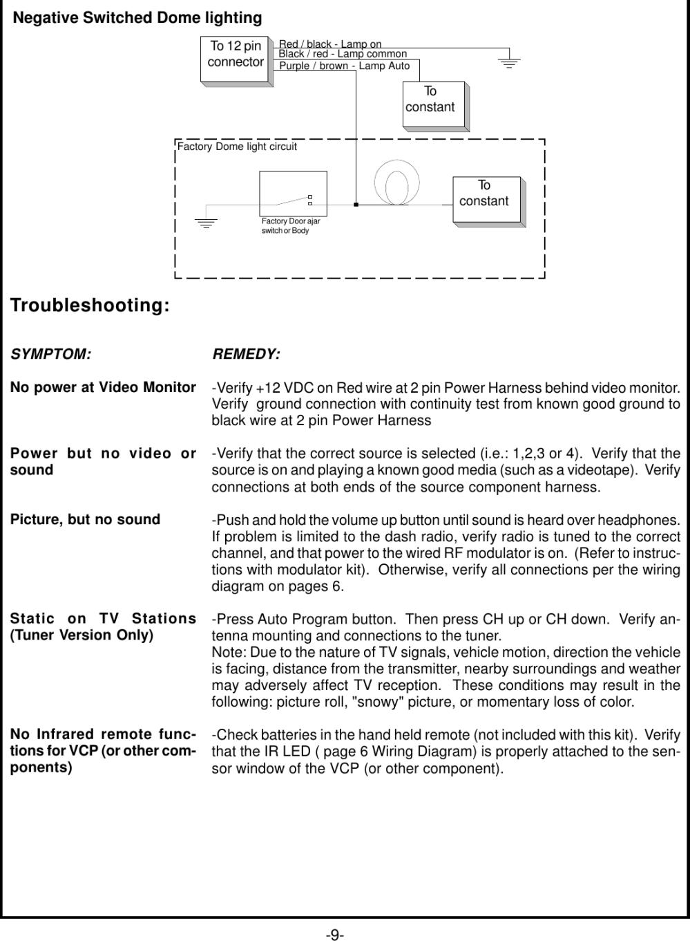 medium resolution of page 11 of 12 audiovox audiovox prov716 prov716s prov716p users