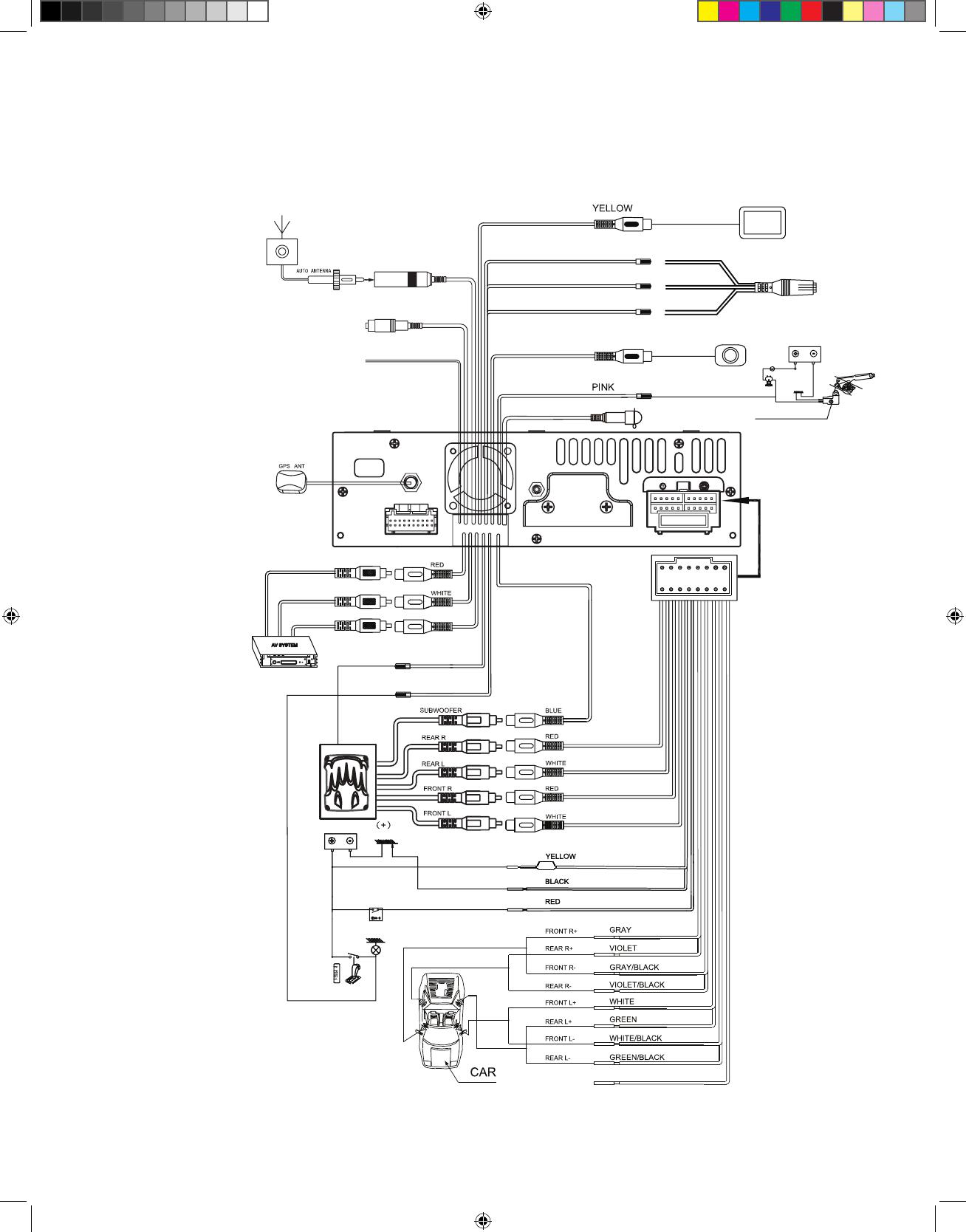 Audiovox Vx7010 Installation Manual