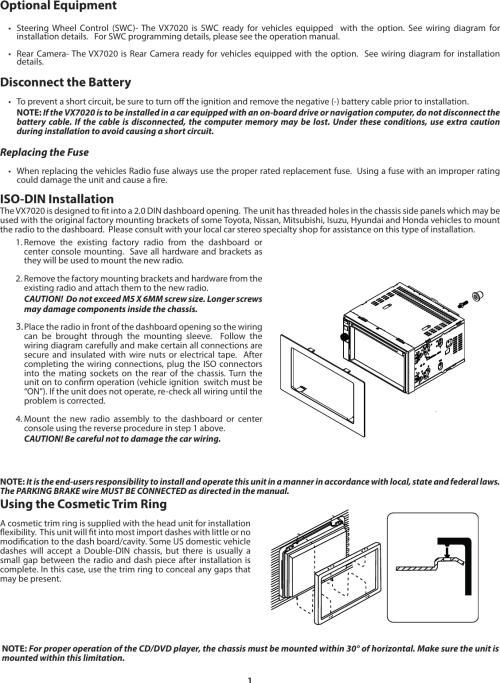small resolution of  audiovox vx7020 installation manual 128 9293 guide 03 25 14 on prestige remote car starter diagram