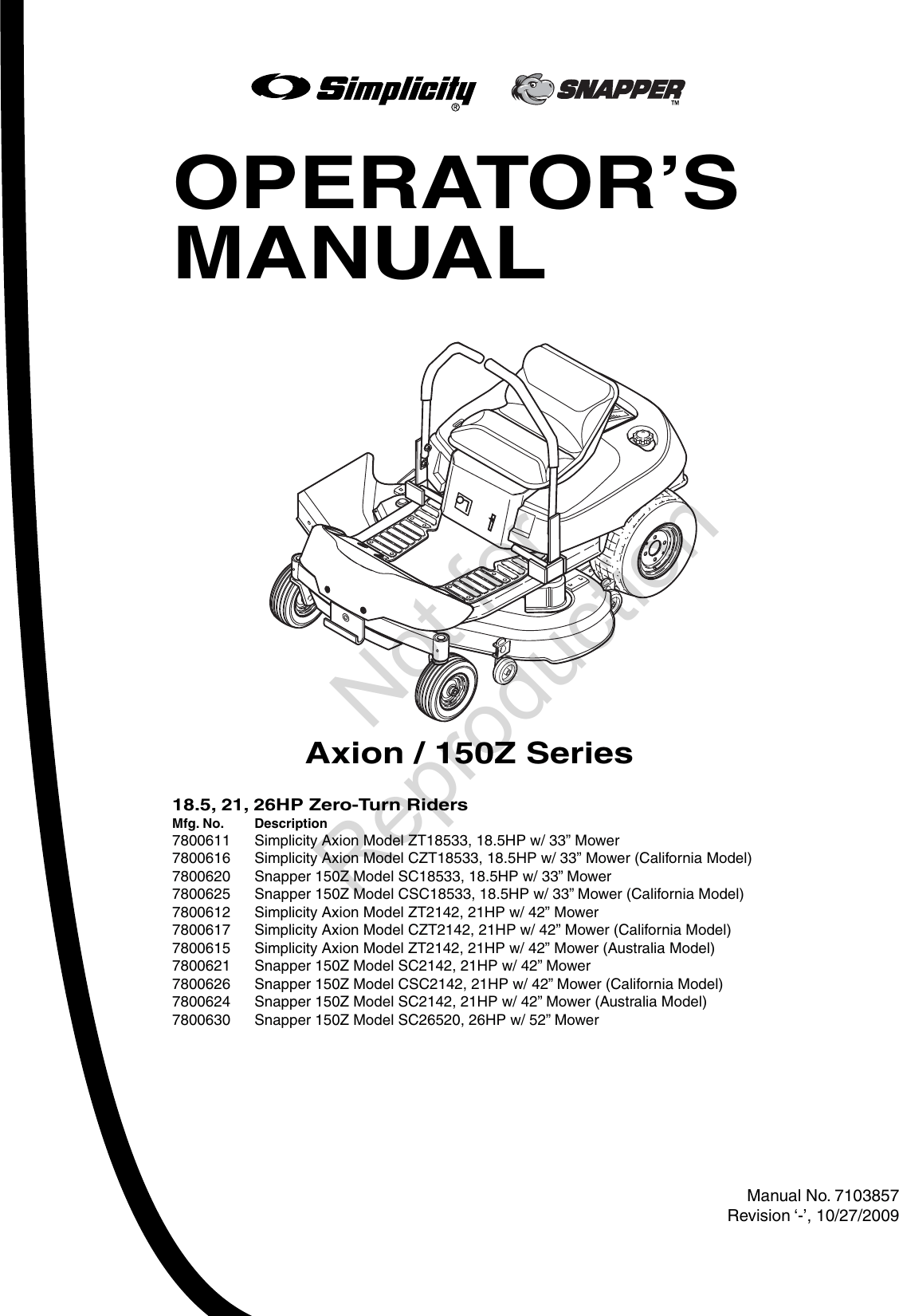Axion Zt18533 Users Manual