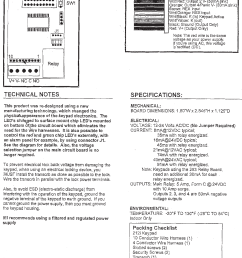 page 5 of 8 bea user guide keypad 75 5107 01 20071025 [ 1177 x 1583 Pixel ]