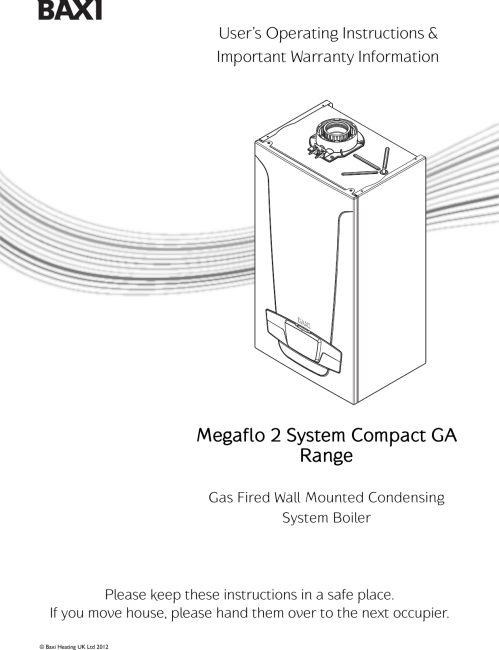 small resolution of page 1 of 12 baxi baxi megaflo system compact ga