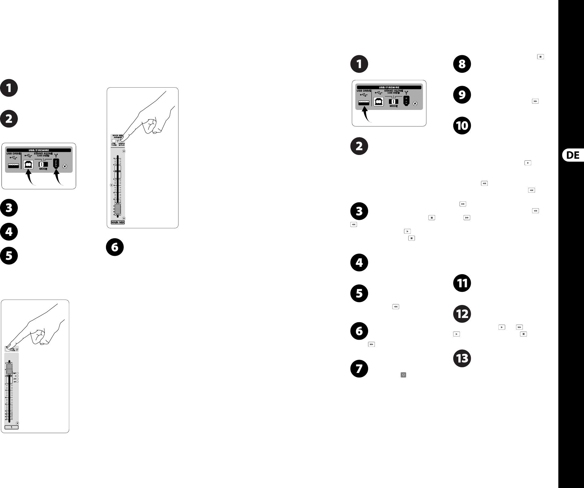 Behringer Xenyx Ufx Quick Start Manual Mark Grap Glob
