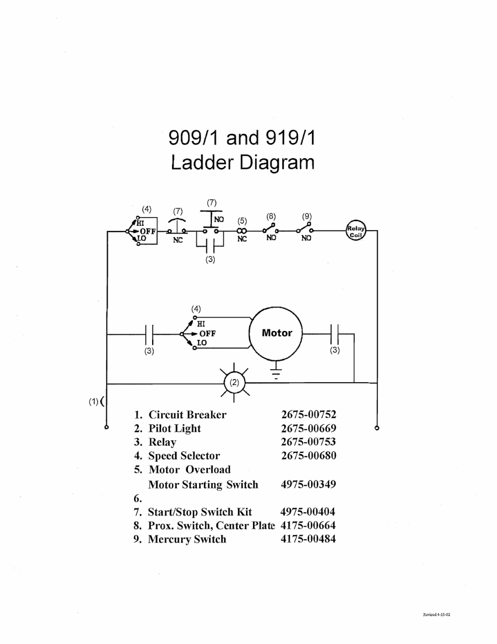 medium resolution of page 29 of 56 909 1 series slicer technical manual