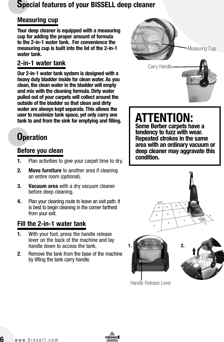 Bissell Powerbrush 1622 Users Manual