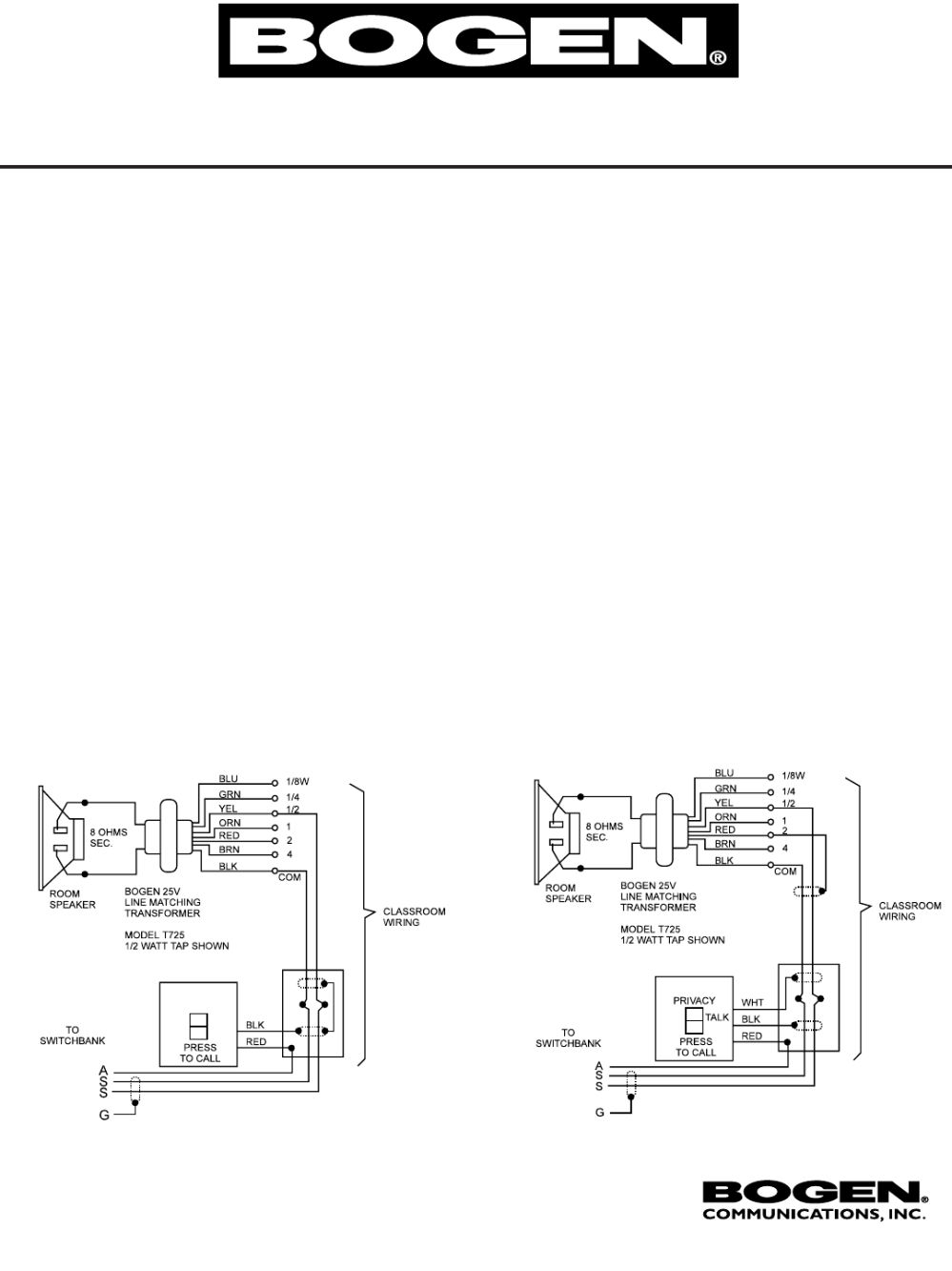 medium resolution of bogen wiring diagram