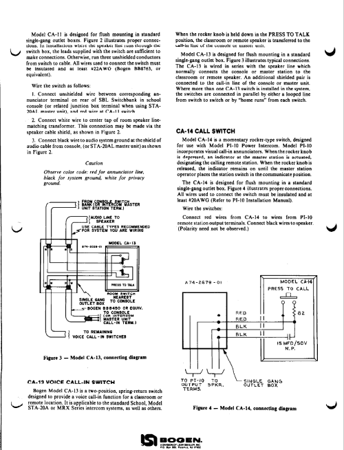 small resolution of bogen intercom systems wiring diagram