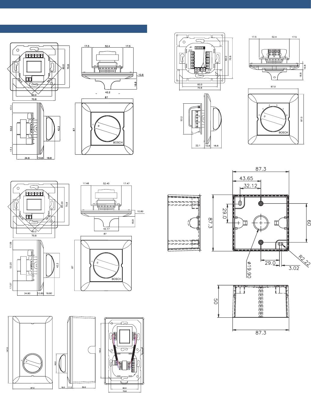 Bosch LBC 14x0/x0 MK Volumeregelaars En LBC 1430/10