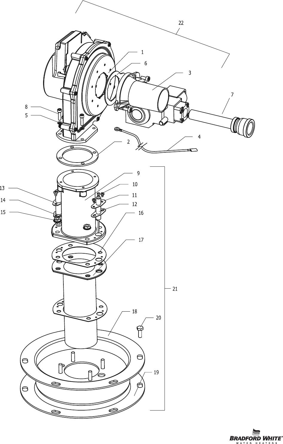 Bradfordwhite 50610 C 31647_50610c_parts_parts_list User