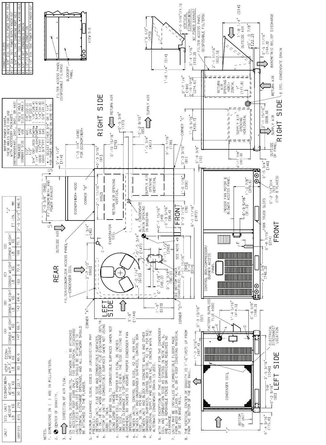 Bryant Durapac Series 580F Users Manual