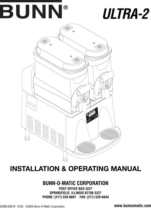 small resolution of bunn single wiring diagram