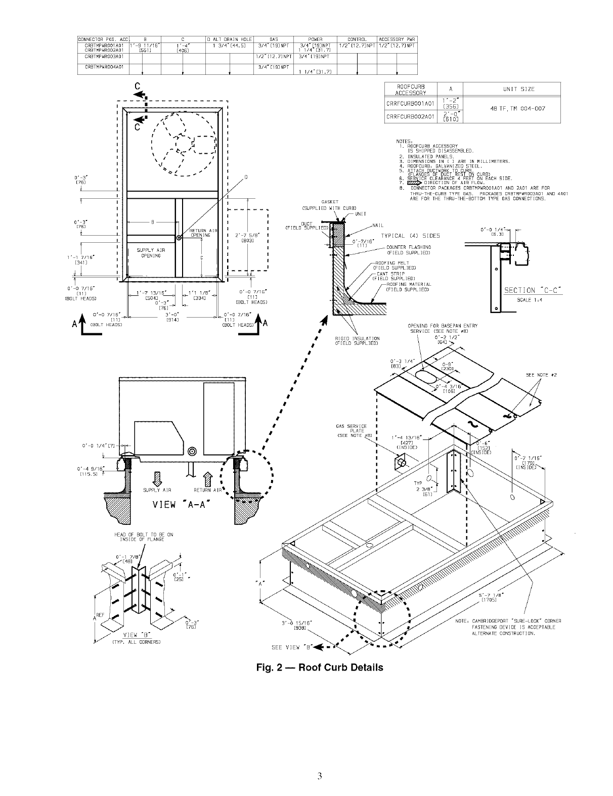 CARRIER Package Units(both Units Combined) Manual L0520544