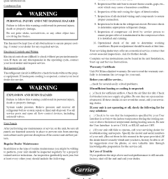 carrier package unitsboth units combined manual l0611350 cor wiring diagrams page 4 of [ 1099 x 1544 Pixel ]