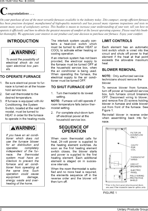 small resolution of page 2 of 4 coleman evcon ind furnace heater electric manual