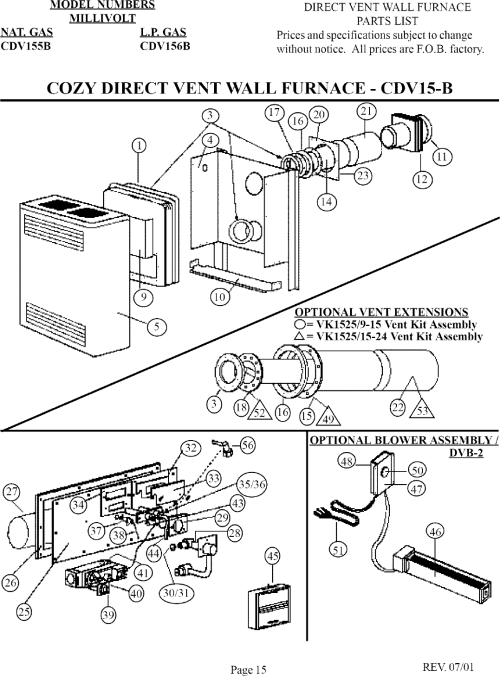 Cozy Wall Furnace Wiring Diagram - coleman wall furnace ... Gas Wall Heater Millivolt Wiring Diagrams on
