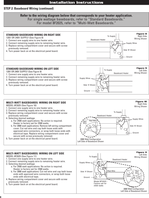 small resolution of page 4 of 12 cadet cadet 10f2500 users manual 720001