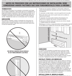 page 8 of 12 cadet cadet 10f2500 users manual 720001 [ 1169 x 1534 Pixel ]