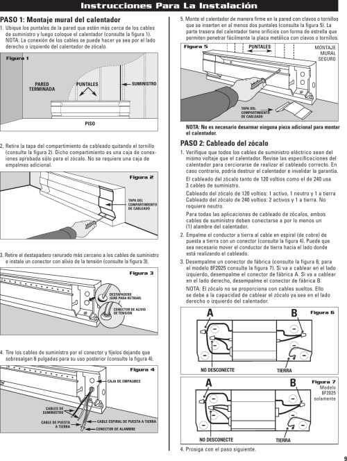 small resolution of page 9 of 12 cadet cadet 10f2500 users manual 720001