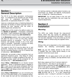 camden cx 12 switching network installation instructions a128 manual nf rev1 [ 1114 x 1484 Pixel ]