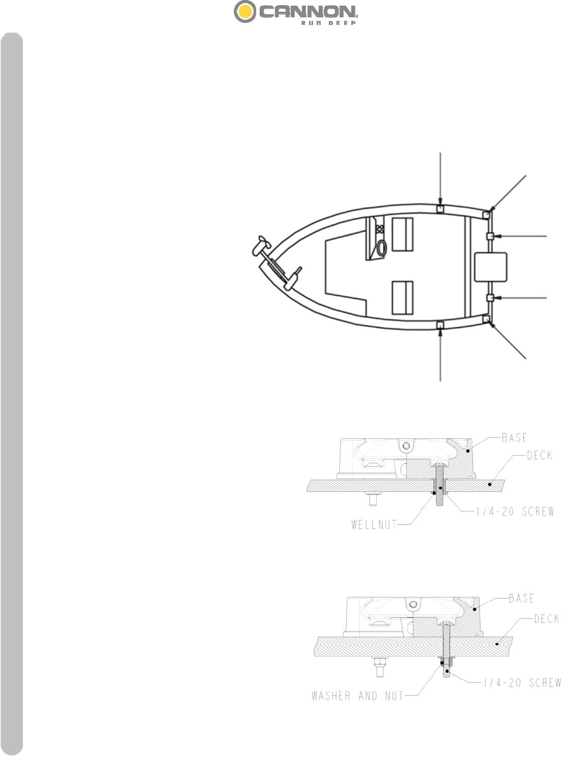 Wiring Diagram Cannon Downrigger