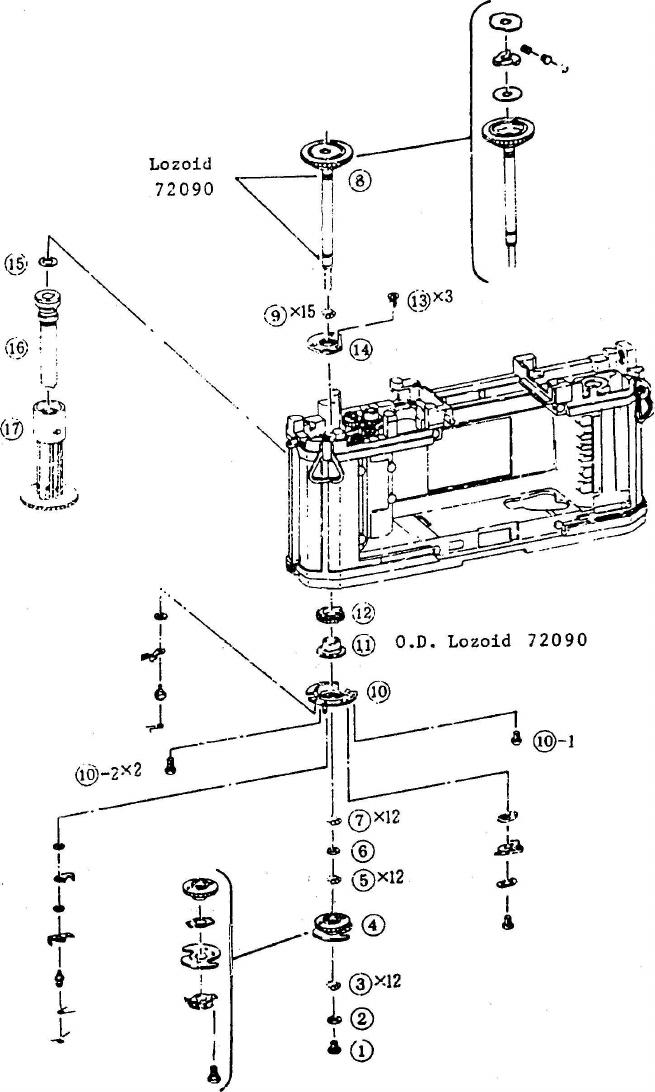 Canon F 1 New Service Manual F1N Repair