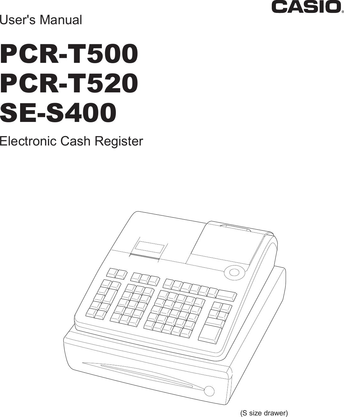 Casio Pcrt500 Inc E Owners Manual