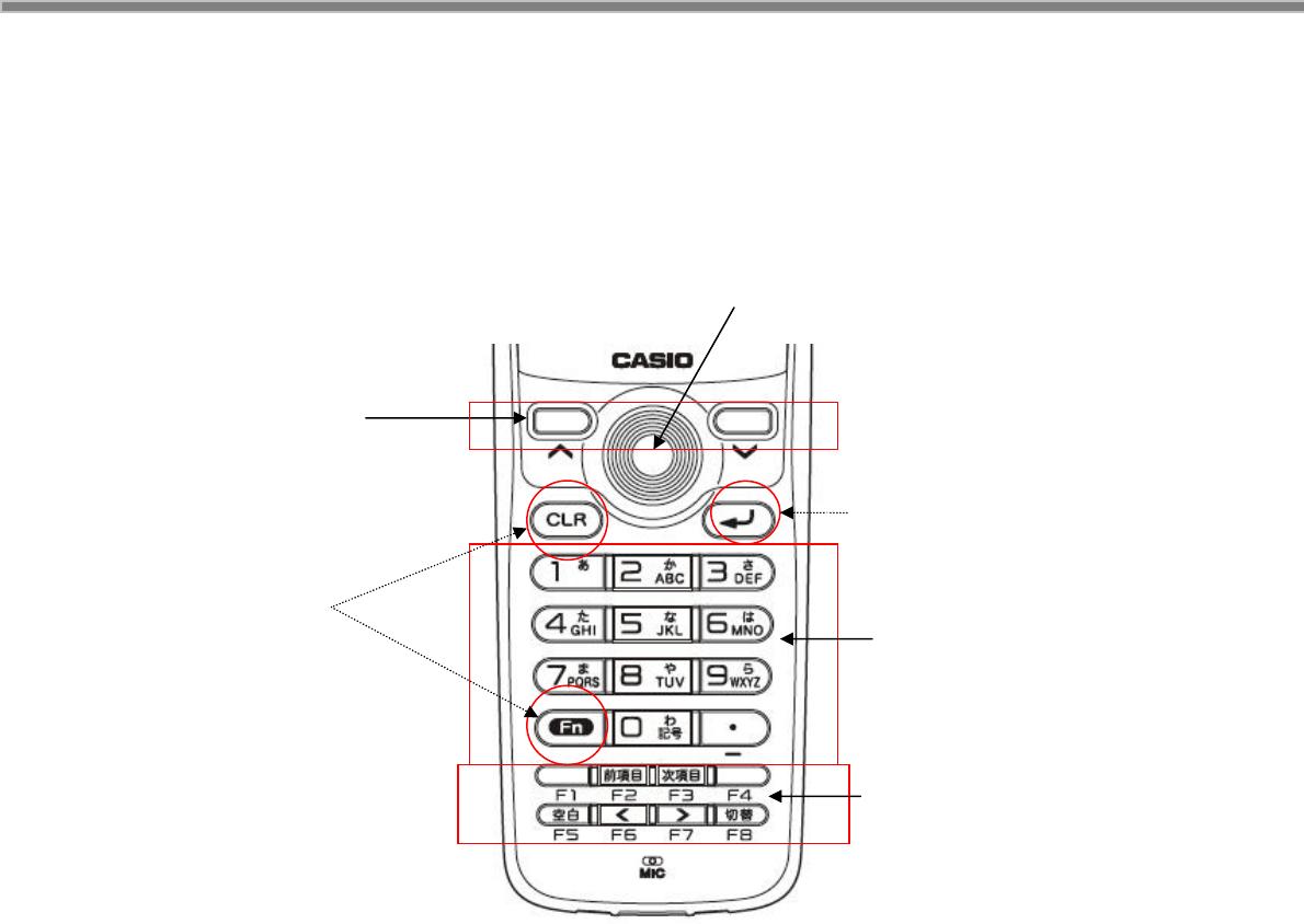 Casio DT X100 ソフトウェアマニュアルVer1.10 (2017年8月9日