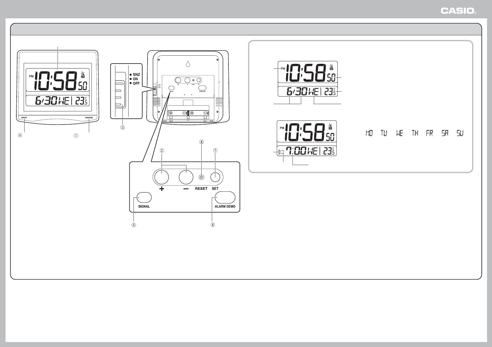 Casio ID 26J ID26J