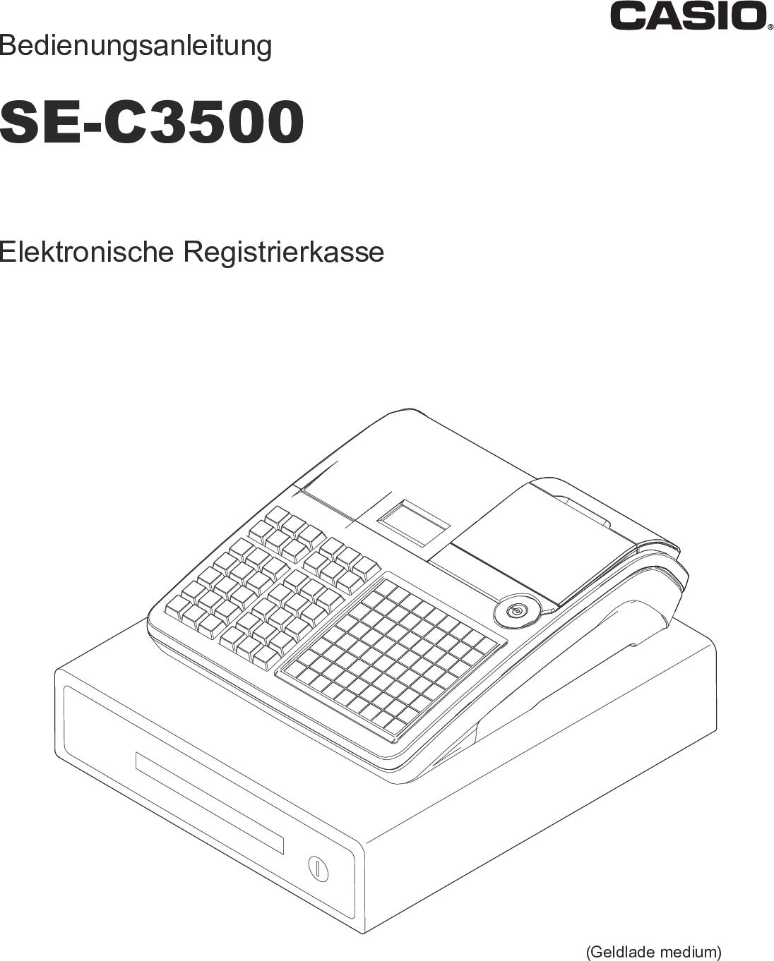 Casio SE C3500_EU C3500 EU DE