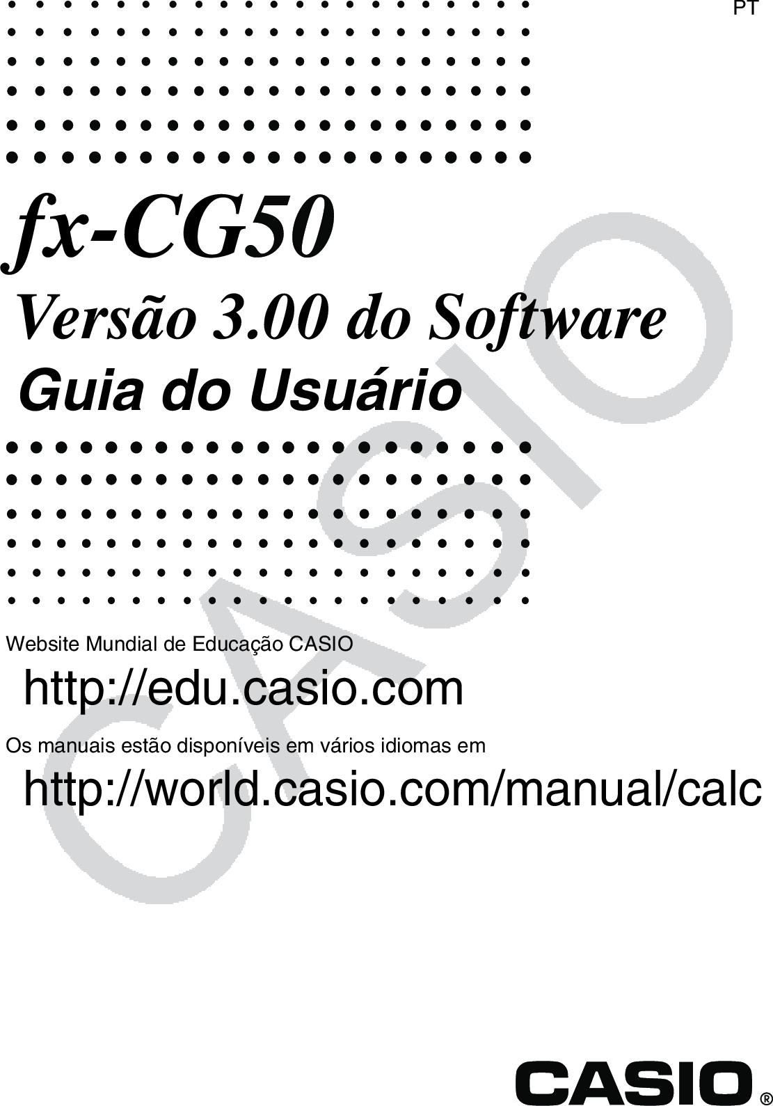 Casio Fx CG50 CG50_Soft Soft PT