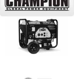wiring diagram on champion power equipment 76533 owners manual on  [ 1105 x 1480 Pixel ]