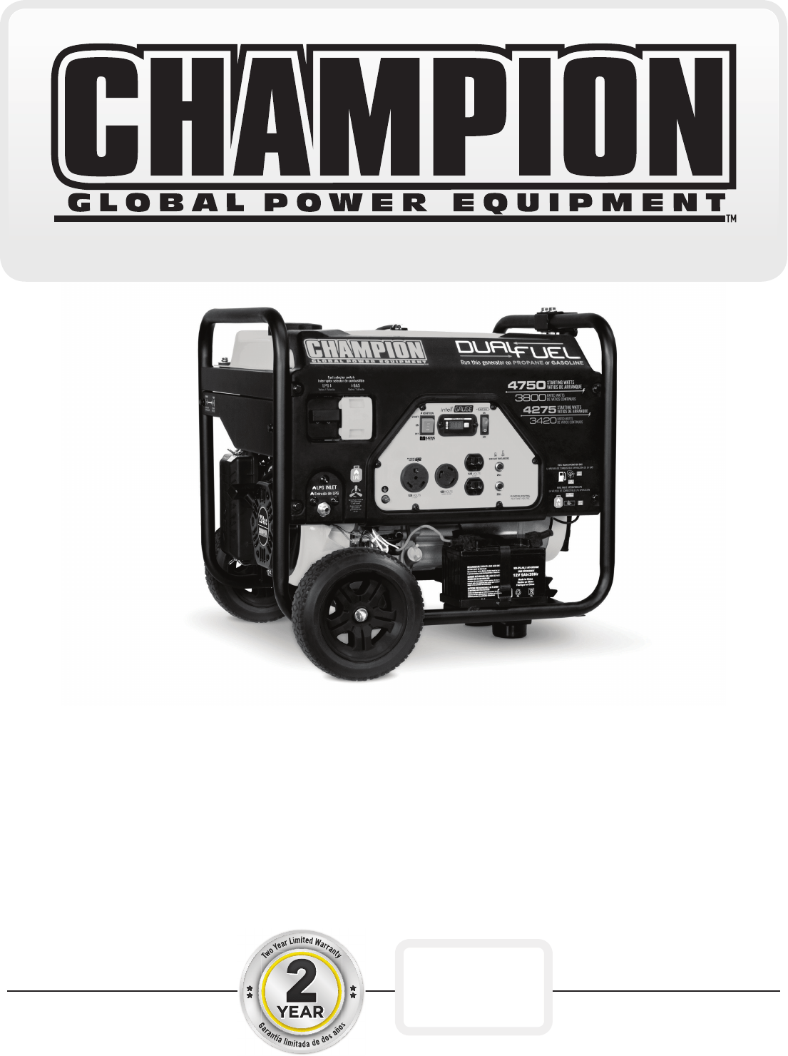 hight resolution of  wiring diagram on champion power equipment 76533 owners manual on