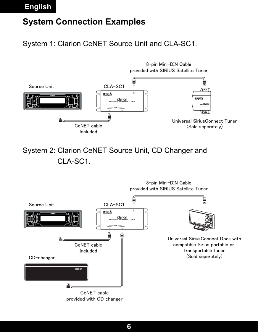 hight resolution of  clarion replacement clarion cla sc1 users manual sc1 cla sc1 clarion manual english v0 on clarion cd player wiring diagram clarion