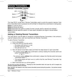 page 6 of 12 clarion clarion rs151 users manual rs151ow1 clarion [ 951 x 1101 Pixel ]