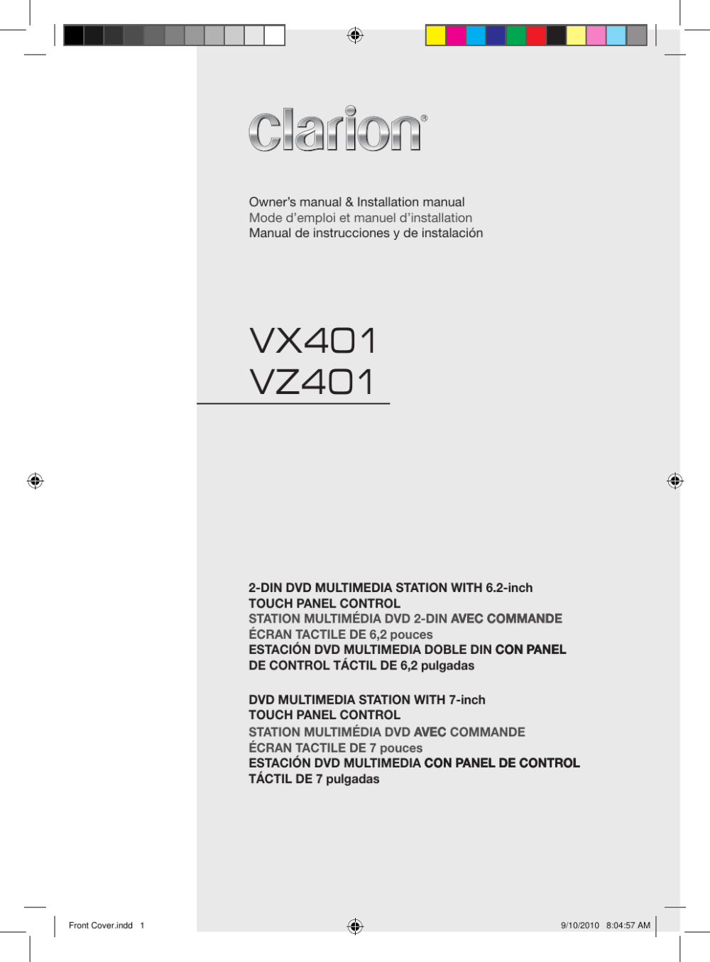 medium resolution of clarion vx401 owners manual wiring diagram vz401 manual
