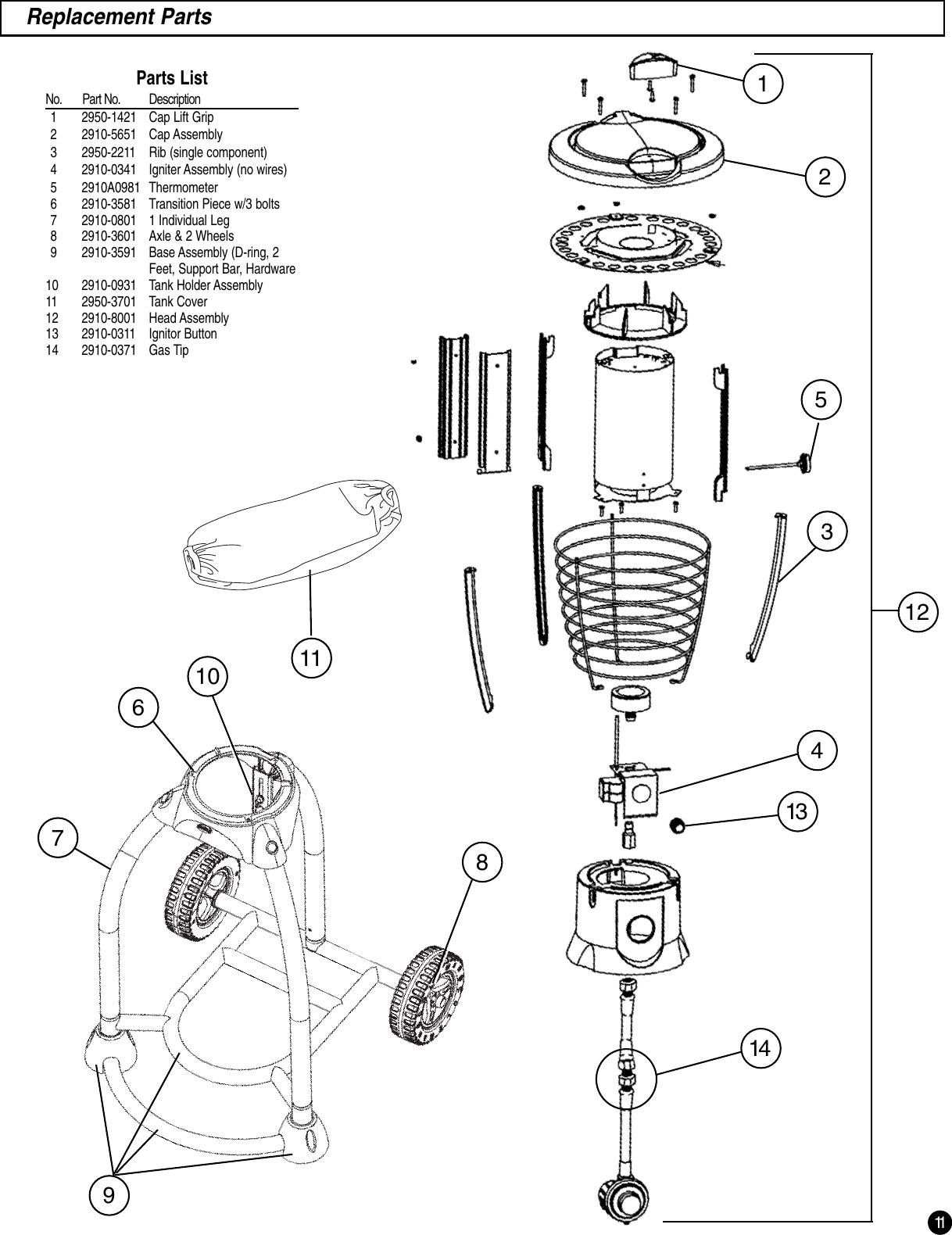 Coleman 8Fa3 Users Manual 2910A100 Mosquito Deleto™