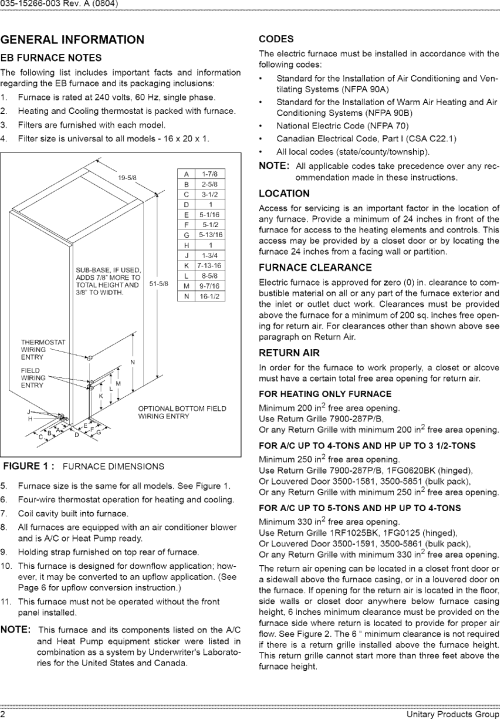 small resolution of coleman eb12b installation manual manualslib makes it easy to find manuals online