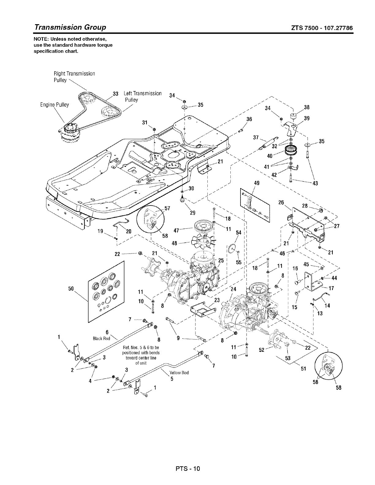 Craftsman 107277860 User Manual ZERO TURN REAR ENGINE