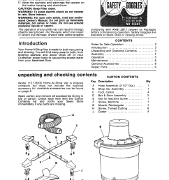 page 3 of 12 craftsman 113178200 user manual 16 gallon home n shop [ 1271 x 1649 Pixel ]