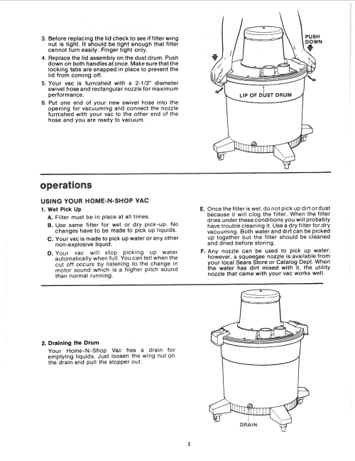 small resolution of page 5 of 12 craftsman 113178200 user manual 16 gallon home n shop