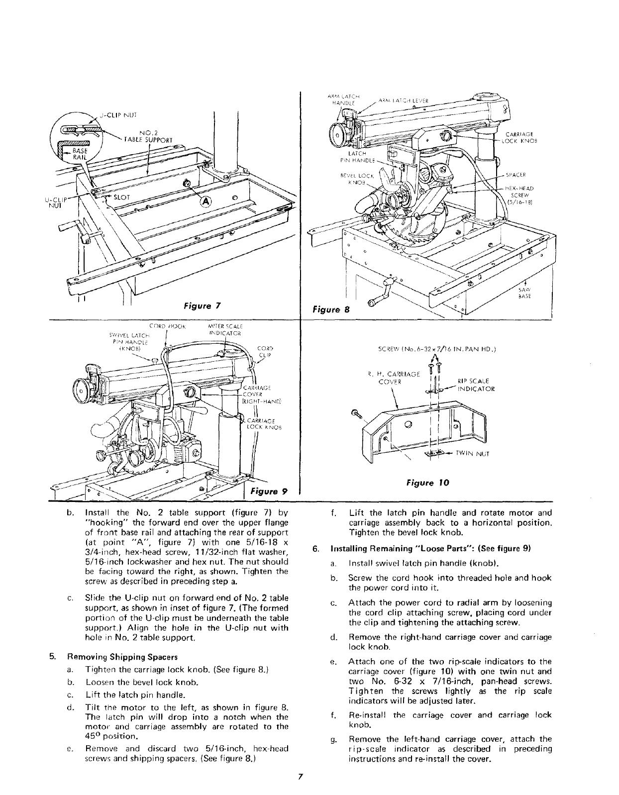 Craftsman 11323301 User Manual 12 IN RADIAL SAW Manuals