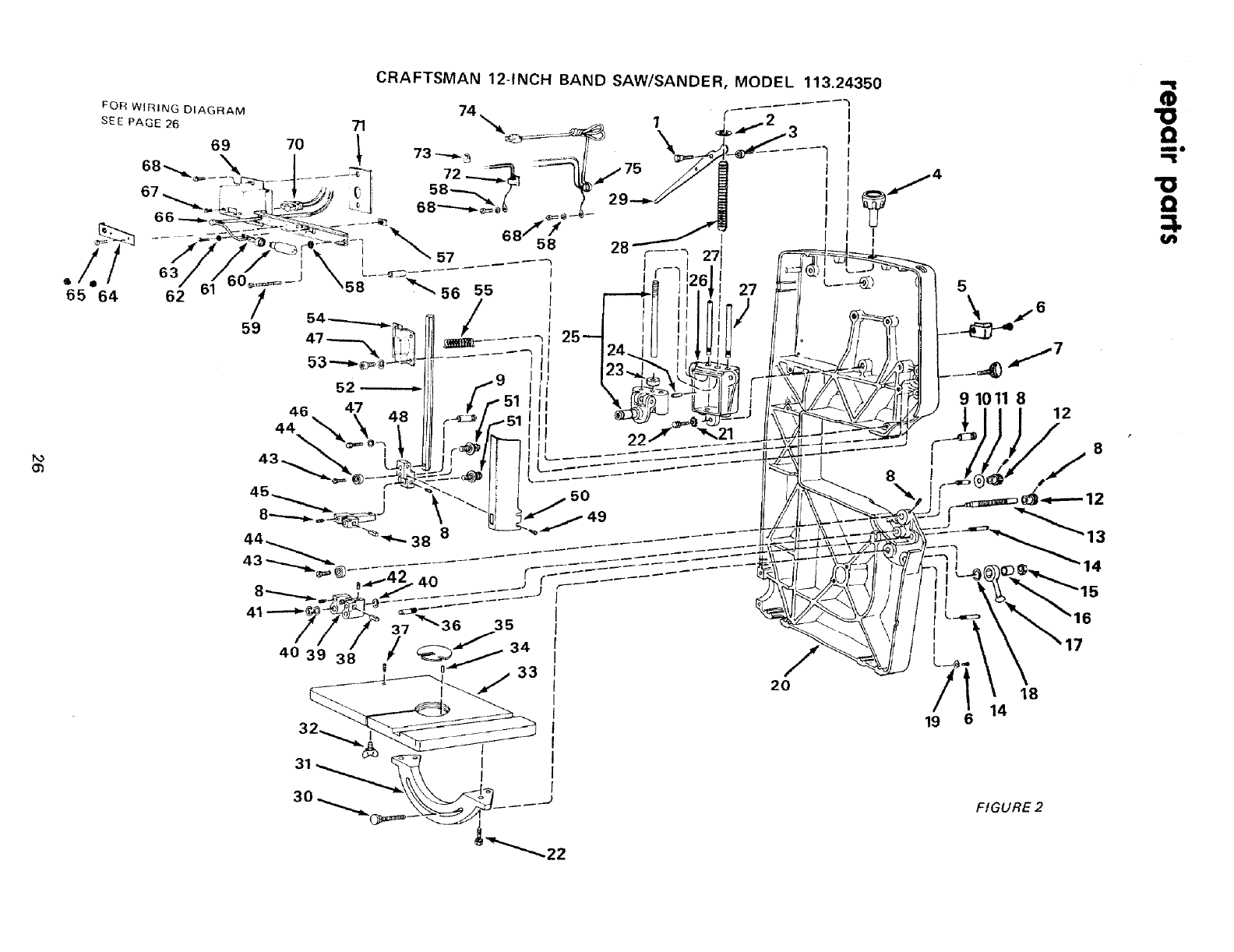 Craftsman 11324350 User Manual 12 INCH BAND SAW Manuals