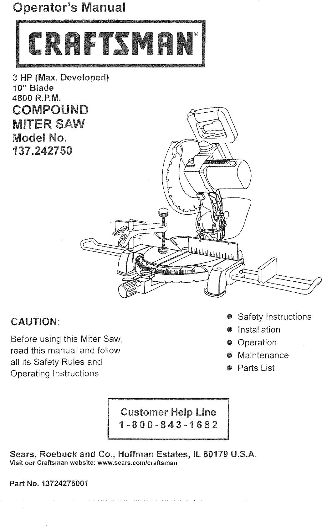 hight resolution of craftsman compound miter saw wiring diagram