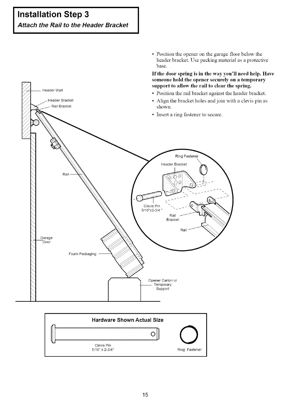 Craftsman 1 3 Hp Garage Door Opener Wiring Diagram