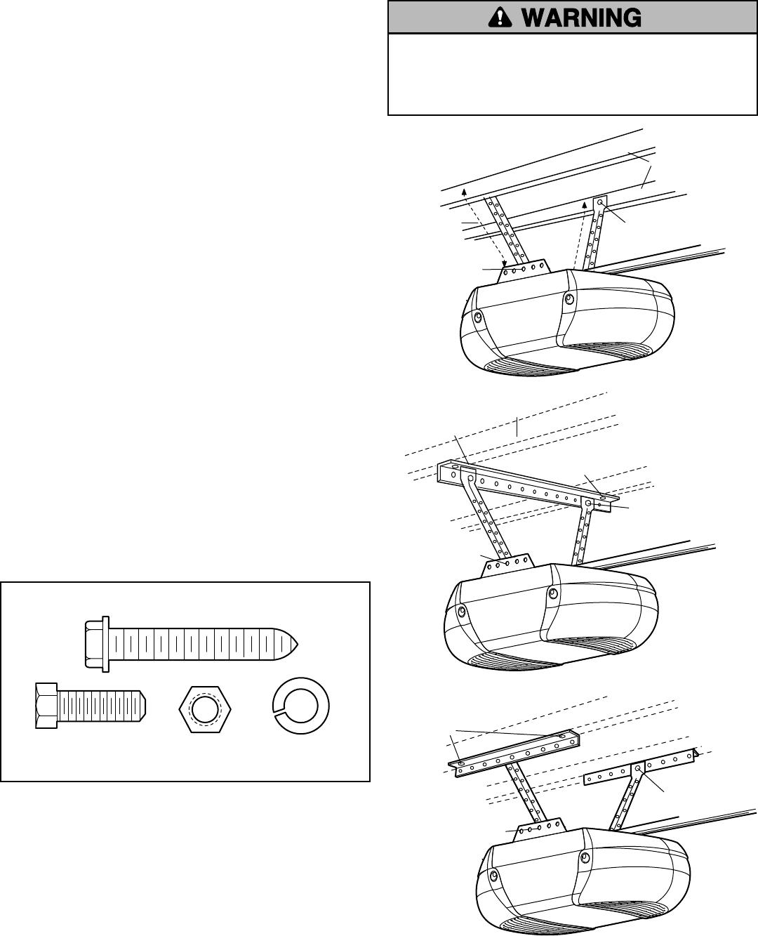 Craftsman 13953993DM User Manual GARAGE DOOR OPENER