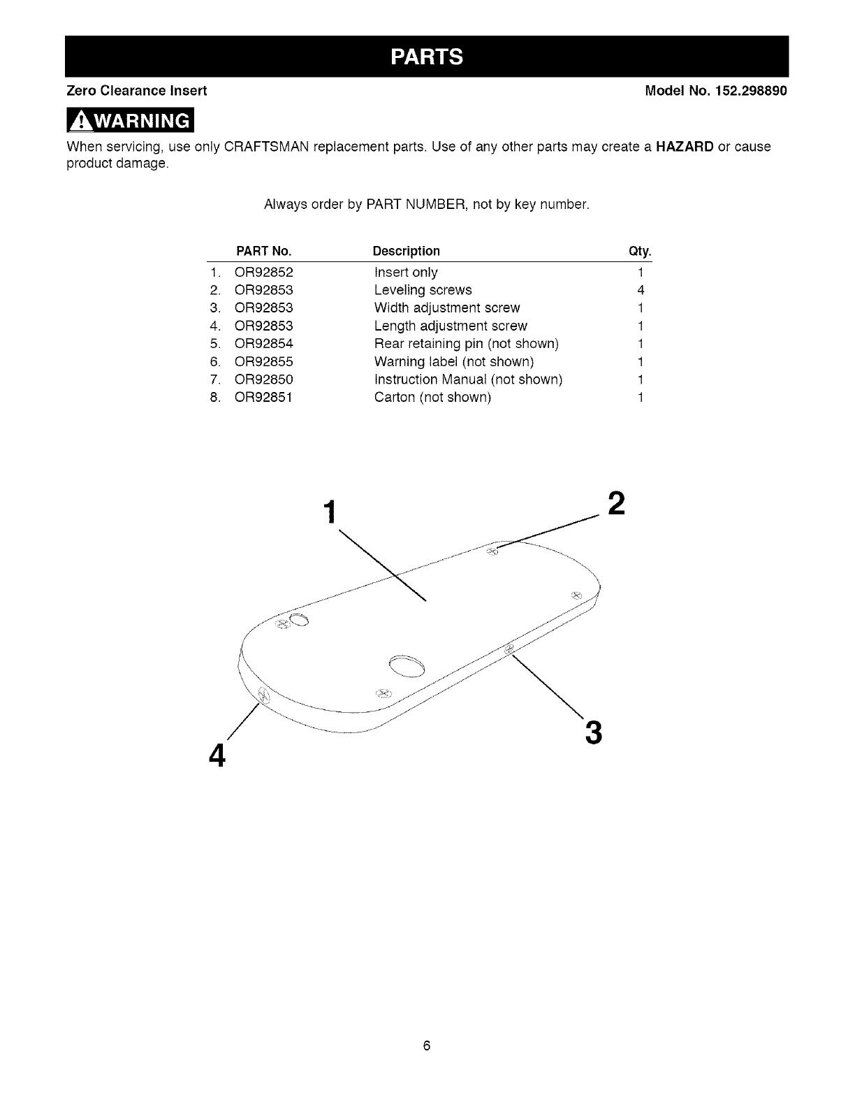 Craftsman 22124 Parts