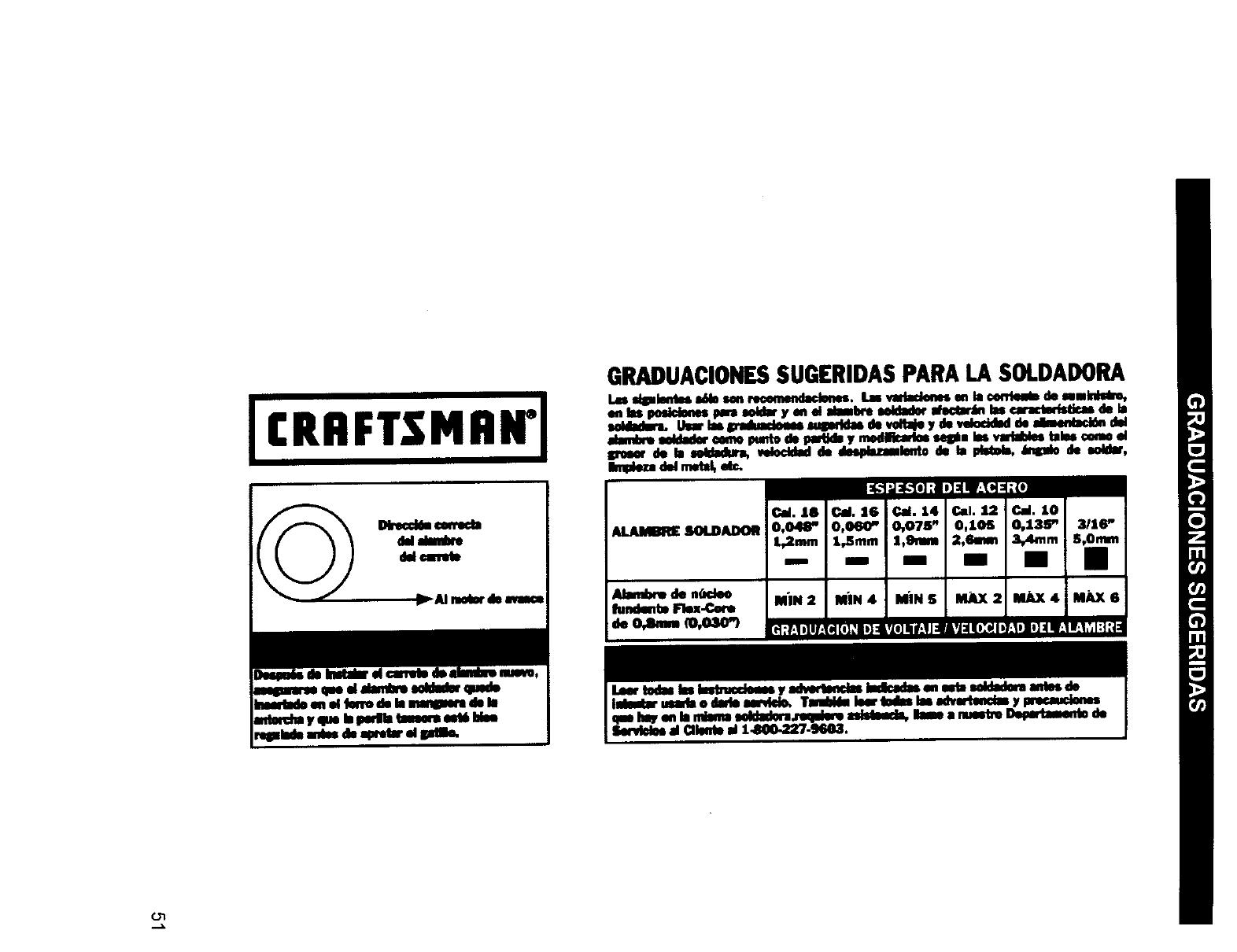 Craftsman 196205680 User Manual MIG WELDER Manuals And