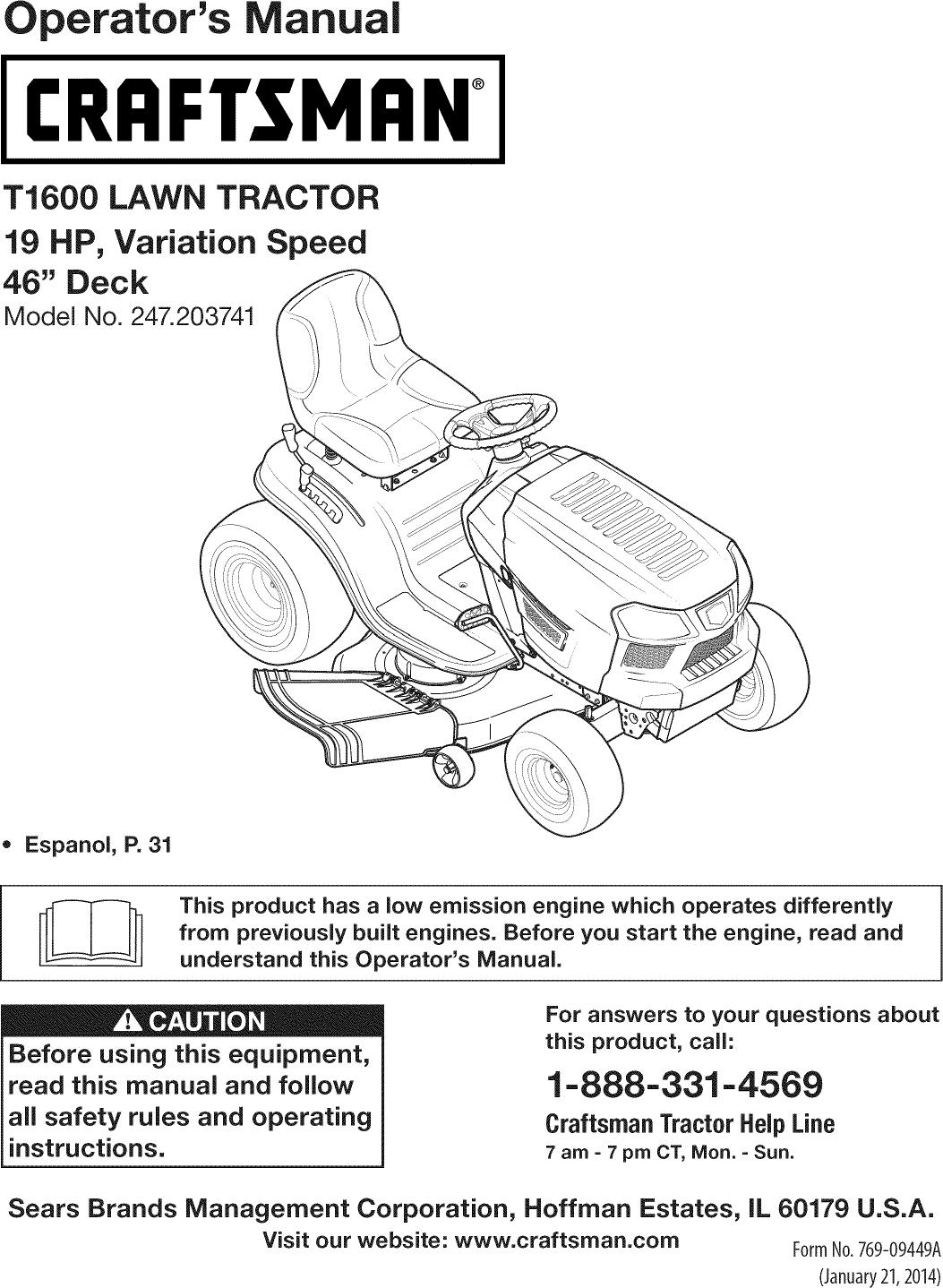hight resolution of craftsman riding mower 46 deck diagram