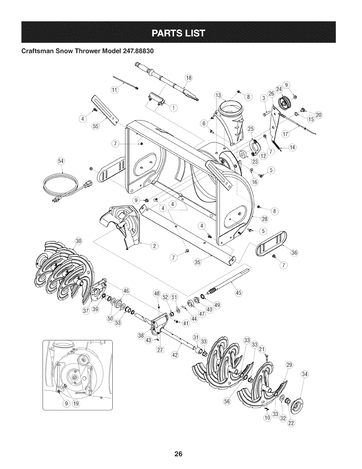 Craftsman 247888300 User Manual SNOW THROWER Manuals And